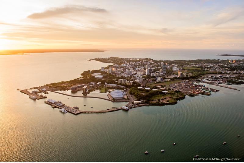 Aerial of Darwin